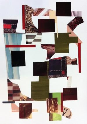 Malene Hartmann, collage, uden titel, 2013