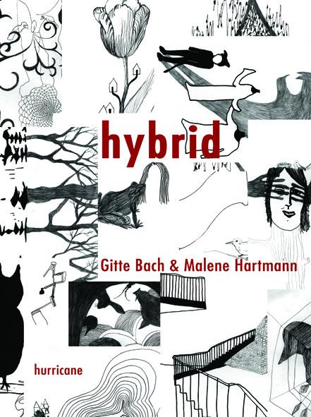 """hybrid"" - artist book af Malene Hartmann og Gitte Bach"